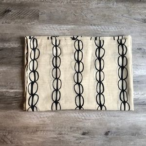 Semi-Sheer Printed Curtains (Set of 2)